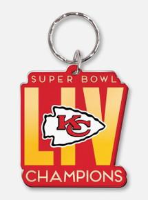 Texas Tech Red Raiders Kansas City Chiefs Super Bowl LIV Champions Key Ring