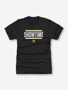 "Texas Tech Red Raiders Patrick Mahomes Official Brand  ""Showtime"" T-Shirt In Black"