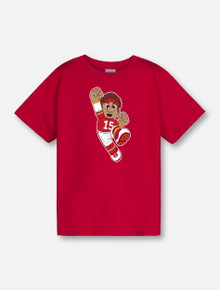 "Texas Tech Red Raiders  YOUTH  ""Gamer"" T-Shirt In Red"