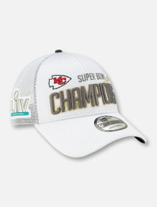 "New Era Official ""On The Field""  Kansas City Chiefs Super Bowl LIV Champions Locker Room Cap"