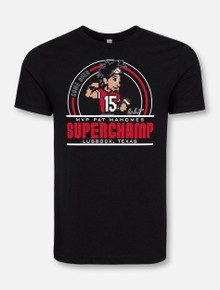 "Texas Tech Red Raiders Patrick Mahomes MVP ""Superchamp"" T-Shirt"