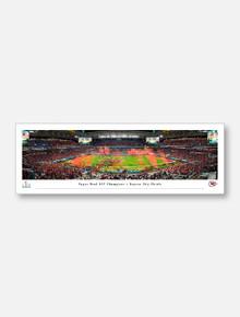 Texas Tech Red Raiders Kansas City Chiefs 2020 Super Bowl LIV Panoramic Poster