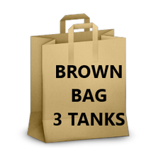 Brown Bag Special- 3 WOMENS Tanks  (Random Colors)