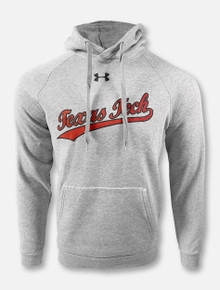 """Under Armour Texas Tech Red Raiders Double T """"Basketball Warm-Up"""" All-Day Hooded Sweatshirt"""