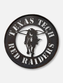 Texas Tech Red Raiders Masked Rider Metal Wall Art