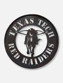 Texas Tech Red Raiders Masked Rider Metal Wall Art