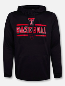 "Under Armour Texas Tech Red Raiders Double T ""Fast Ball"" Fleece Pullover Hoodie"