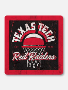 "Texas Tech Red Raiders Double T ""Clutch Shot"" Coaster"