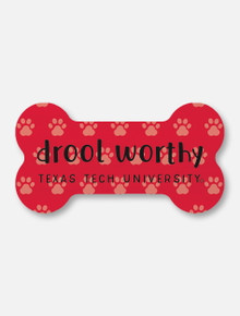 "Texas Tech Red Raiders Double T ""Drool Worthy"" Magnet"