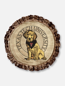 """Texas Tech Red Raiders Double T """"Barky"""" Magnet"""