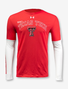 "Under Armour Texas Tech Red Raiders Double T ""Conference Shooting Shirt"" Long-Sleeve T-Shirt"
