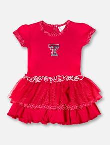 Texas Tech Red Raiders Double T Pin Dot TODDLER GIRLS TuTu Dress