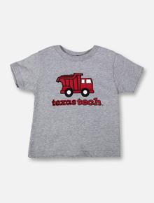 """Texas Tech Red Raiders """"Dump Truck"""" TODDLER T-Shirt"""
