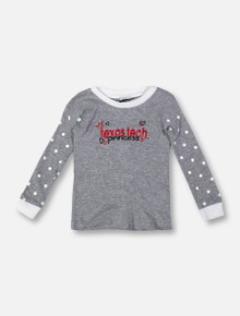 "Texas Tech Red Raiders ""Princess Abbey"" INFANT GIRLS Long Sleeve T-Shirt"