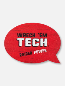 Texas Tech Red Raiders Double T Raider Power Magnet