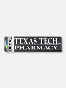 Texas Tech Red Raiders Pharmacy White Decal