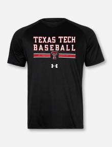 """Under Armour Texas Tech Red Raiders Double T Baseball """"Wells Runs Deep"""" Short Sleeve T-Shirt"""