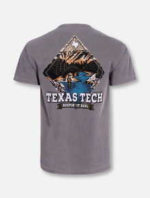 "Texas Tech Red Raiders Black and White Double T ""Fly Fishing"" Short Sleeve T-Shirt"