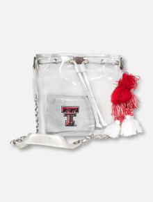 "Texas Tech Red Raiders Double T  ""Ella"" Bucket Bag"