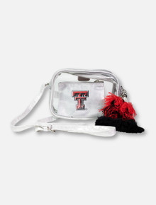 "Texas Tech Red Raiders Double T  ""Poppy"" Tassel Side Bag"