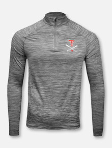"""Under Armour Texas Tech Red Raiders Double T """"Around The Horn"""" Performance Quarter-Zip Pullover"""