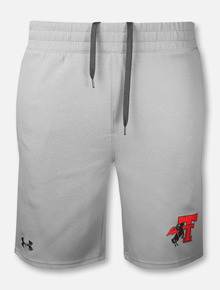 "Under Armour Texas Tech Red Raiders Double T ""Double Knit Rearing Rider"" Jacquard Short"