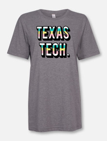 "Texas Tech Red Raiders Stacked ""La Jolla"" T-Shirt"