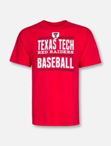 "Champion Texas Tech Red Raiders ""Double Header"" Short Sleeve Baseball T-Shirt"