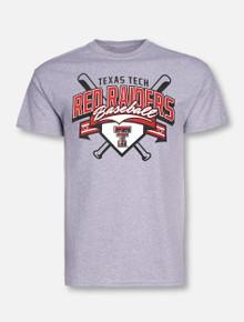 "Champion Texas Tech Red Raiders ""RBI"" Short Sleeve Baseball T-Shirt"