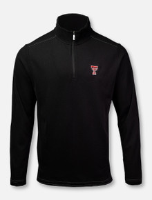 "Tommy Bahama Texas Tech Red Raiders Double T ""Sport Emfielder 2.0"" 1/2 Zip Pullover"