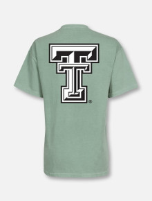 Texas Tech Red Raiders Large Black and White Double T T-Shirt