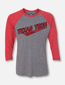 Texas Tech Red Raiders Three-Quarter Sleeve Raglan T-Shirt