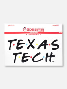 "Texas Tech Red Raiders ""The One Where We Wreck 'Em"" Decal"