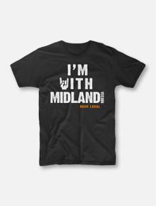 """#OurFrontLineRocks """"I'm With Midland"""" Buy One, Help Three Campaign T-shirt"""