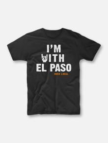 "#OurFrontLineRocks ""I'm With El Paso"" Buy One, Help Three Campaign T-shirt"