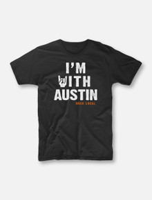 """#OurFrontLineRocks """"I'm With Austin"""" Buy One, Help Three Campaign T-shirt"""