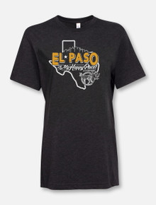 """El Paso Is My Happy Place"" Buy One Help Three Campaign T-shirt"