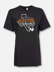 """Austin Is My Happy Place"" Buy One Help Three Campaign T-shirt"