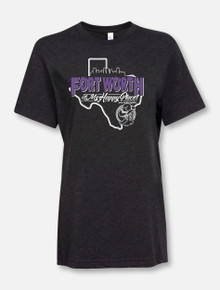 """Fort Worth Is My Happy Place"" Buy One Help Three Campaign T-shirt"