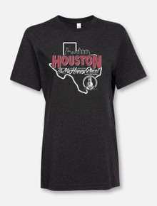 """Houston Is My Happy Place"" Buy One Help Three Campaign T-shirt"
