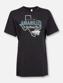 """Amarillo Is My Happy Place"" Buy One Help Three Campaign T-shirt"