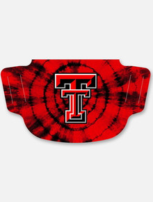 Texas Tech Red Raiders Tie Dye with Double T  Face Mask