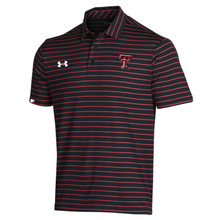Under Armour Texas Tech Red Raiders 2020 Coaches Sideline Striped Polo