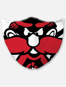 Texas Tech Red Raiders Raider Red Mascot  Face Mask