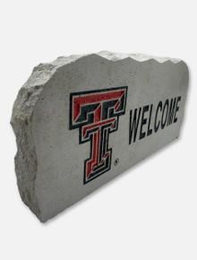 Texas Tech Welcome Sign Stone