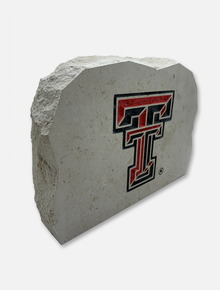 Texas Tech Double T Sign Stone