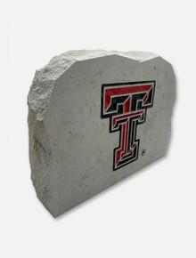 Texas Tech Double T Sign Stone