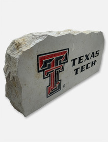 Texas Tech Stack with Double T Sign Stone