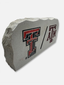 House Divided: TTU/A&M Sign Stone
