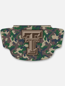 Texas Tech Red Raiders Camo with Double T  Face Mask